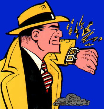 "Dick Tracy's ""Smart"" Watch"
