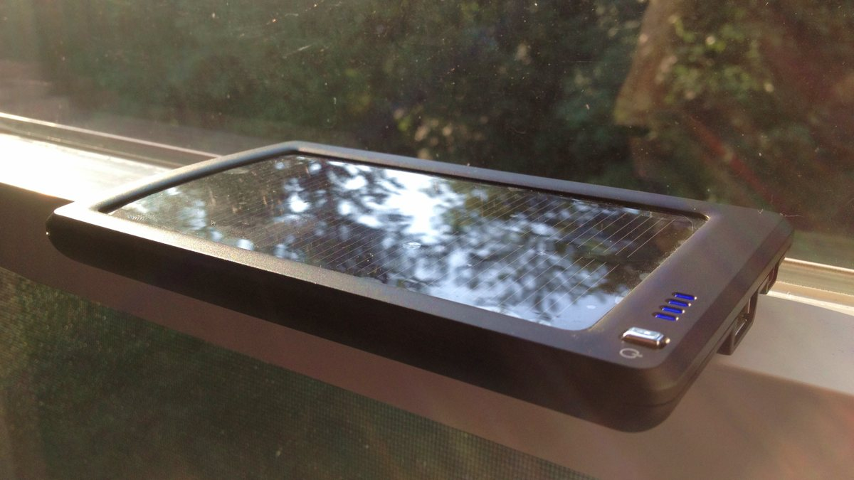 Solar Charger Review: Opteka BP-SC4000