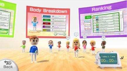 Wii Fit U Plaza