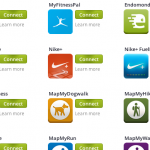 EveryMove integrates with a wide variety of apps and devices