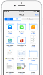 iOS 8 iCloud Drive