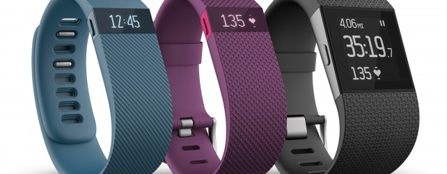 Fitbit Announces New Charge and Surge Trackers