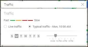 Google Maps Traffic Prediction