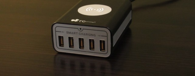 EC Technology 5-USB Port with Qi Desktop Charger Review