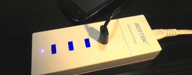 BESTEK Reversible 4 USB Port Charger Review