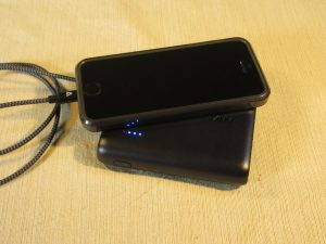 Anker PowerCore 10400 charging an iPhone