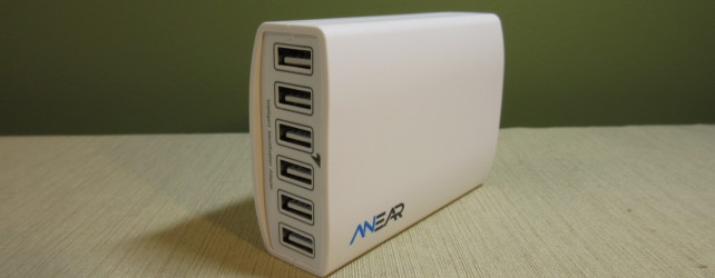Anear 60W 6-Port Desktop USB Charger Review