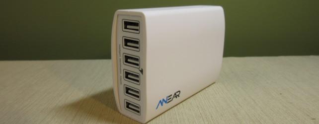 Anear 60W 6-Port Desktop USB Charger Review