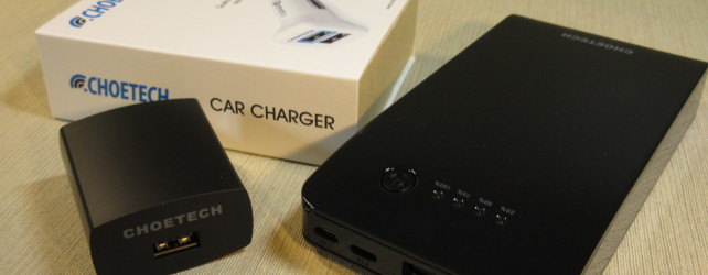 Choetech Power Bank and Chargers