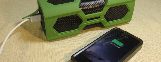 DYJ Rugged Bluetooth Speaker with 3600mAh Power Bank Review