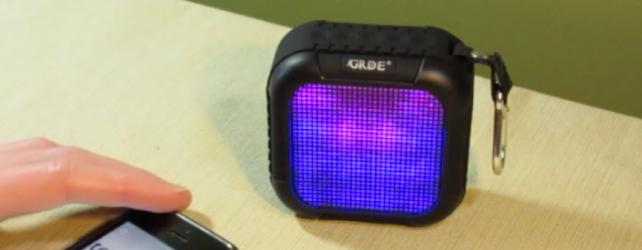 GRDE LED Bluetooth Speaker Review