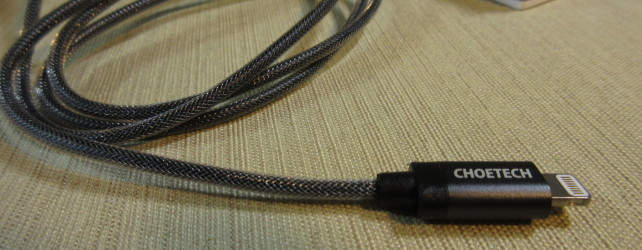 CHOETECH Nylon Braided Lightning Cable Review