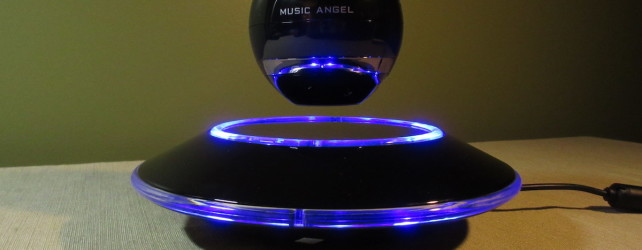 Music Angel Levitating Bluetooth Speaker Review