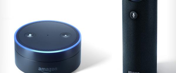 Amazon Tap and Echo Dot