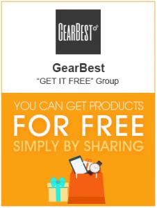 GearBest Get It Free