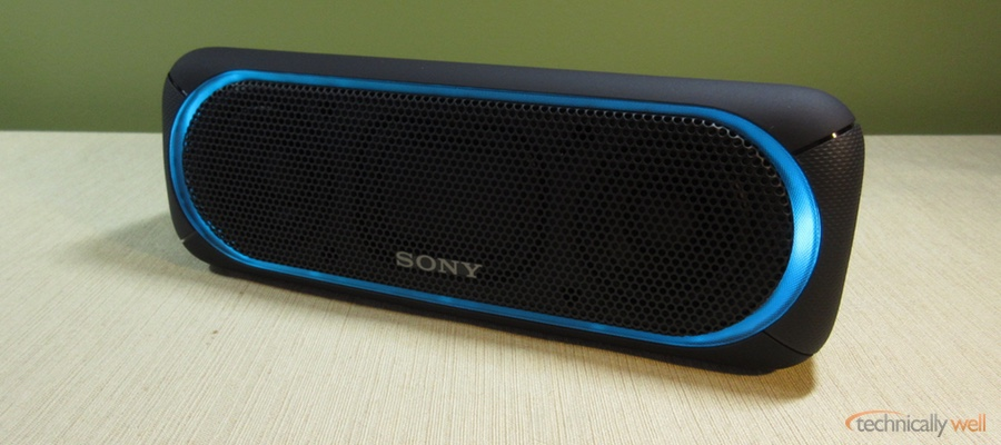 Sony Srs Xb30 Bluetooth Speaker Review Technically Well