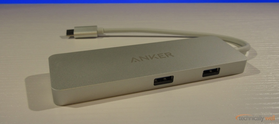 Anker USB-C Hub with HDMI and Power Delivery