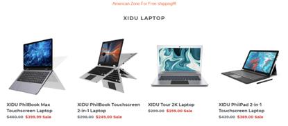 XIDU Laptops