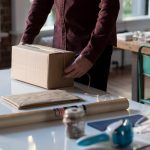 shipping a box