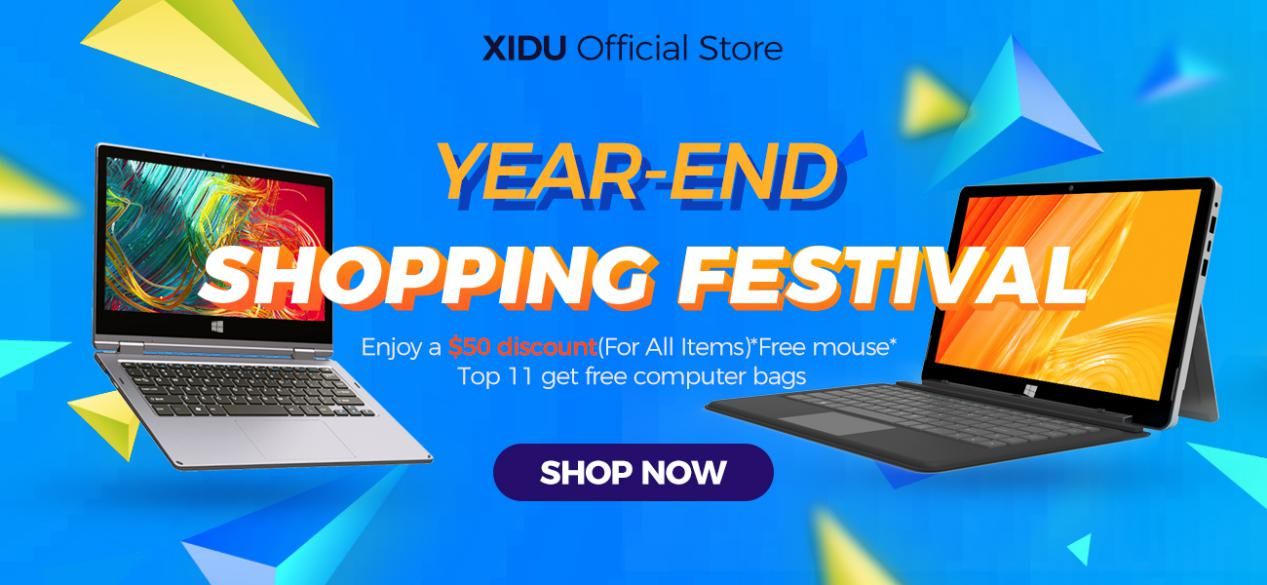 XIDU Year End Shopping Event