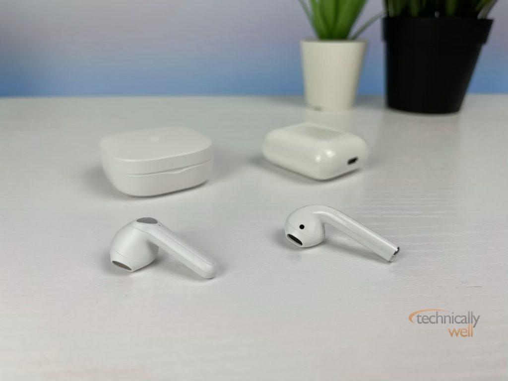 SoundPEATS TrueAir2 vs Apple AirPods