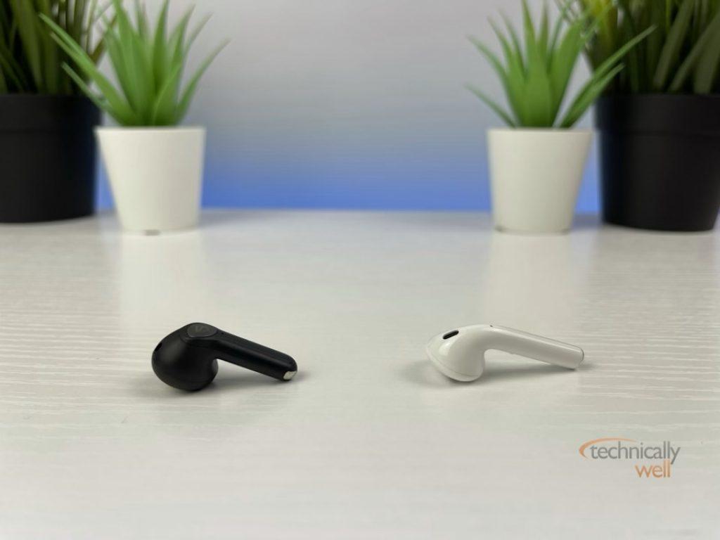 SOUNDPEATS Air3 vs Apple AirPods