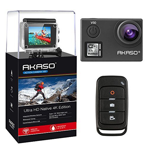 AKASO V50 4K Action Camera Review – Technically Well