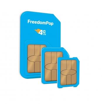 FreedomPop 4G LTE SIM Card